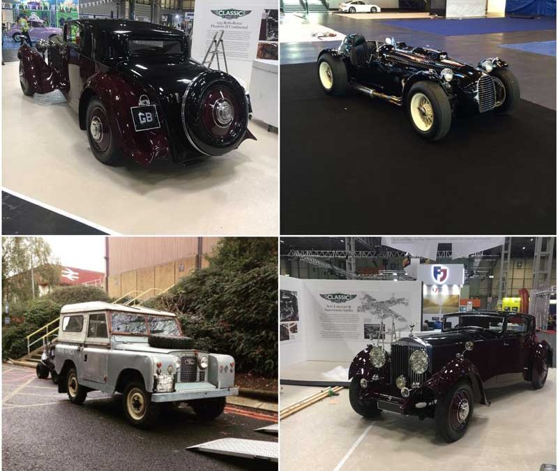 2017 Classic Motor Show at the NEC